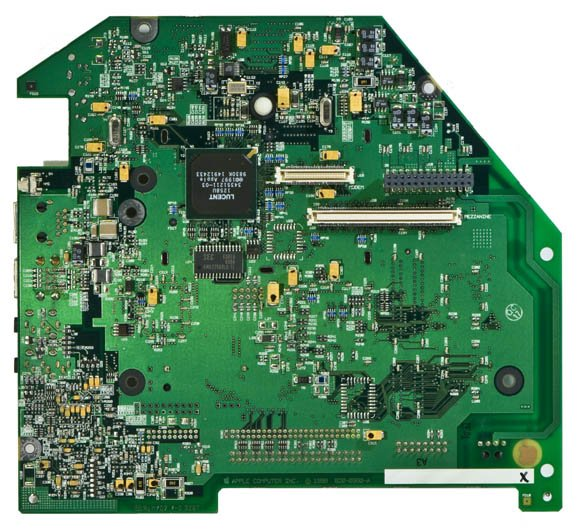 Bondi Blue Rev. B iMac - logic board, bottom