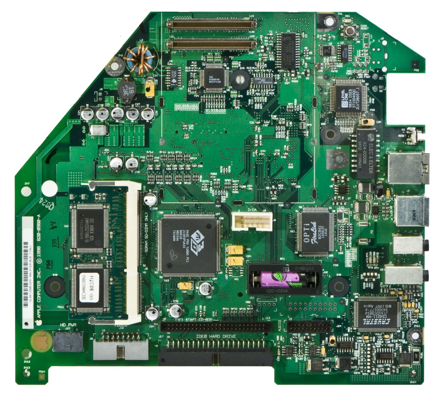 The Mac That Saved Apple And Steve Jobs Register 2nd Try How To Find A Short Circuit In Macbook Logic Board B Imac Logicboard Top