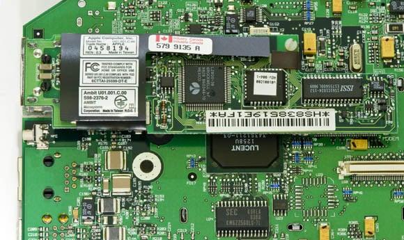 Bondi Blue Rev. B iMac - modem card
