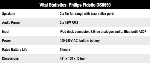 Philips Fidelio DS8550