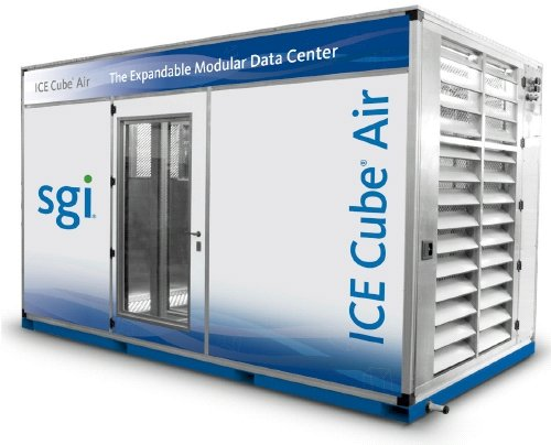 SGI's Ice Cube Air Data centre