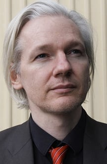 Julian Assange, photo by Espen Moe