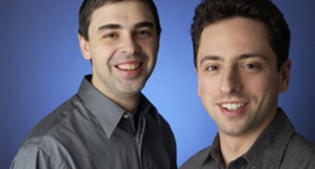Larry Page and Sergey Brin