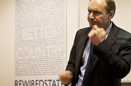 Tim Berners-Lee, photo by Paul Clarke