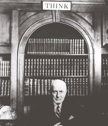 IBM founder TJ Watson