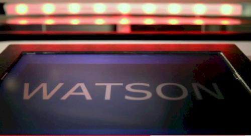 IBM's Watson playing Jeopardy