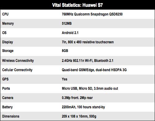 Huawei S7