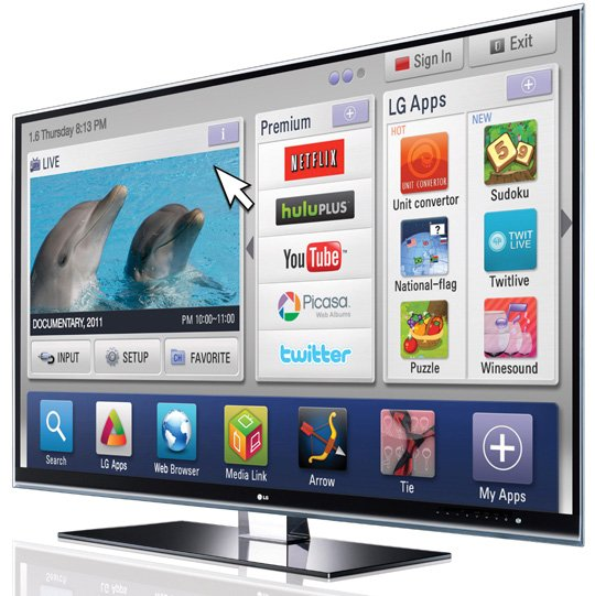LG makes a dash for TV apps • The Register