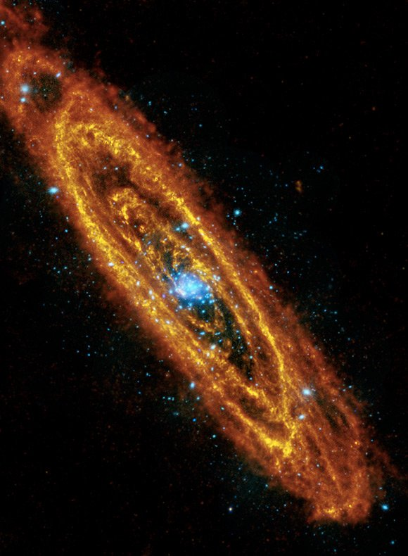 ESA's composite image of Andromeda