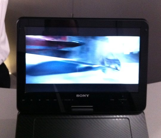 Sony portable 3D BD player
