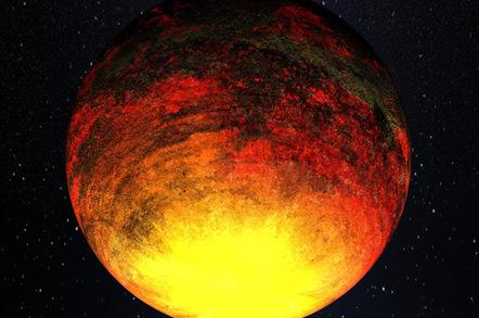 Artist's impression of Kepler-10b. Pic: NASA