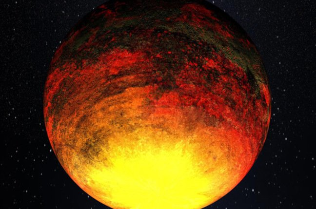 Artist's impression of Kepler-10b. Pic: NASA