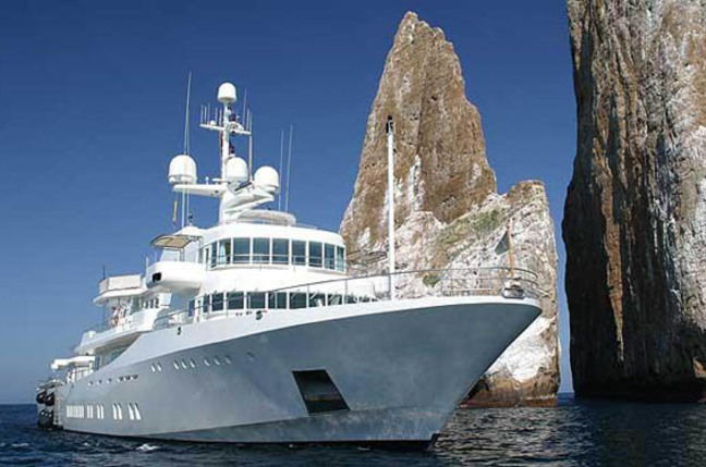 Larry Page's new yacht, 'Senses'