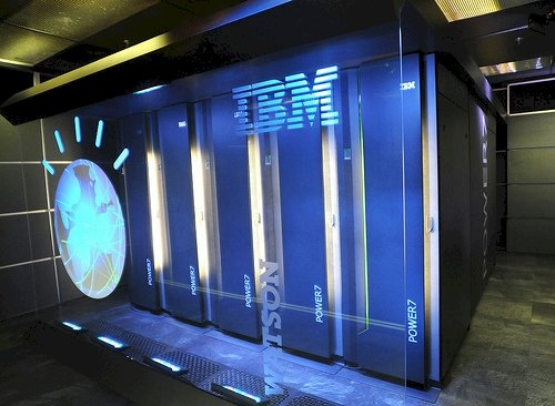 IBM. HUMAN-crushing SUPERCOMPUTER Watson. The Cloud. You know where THIS is going