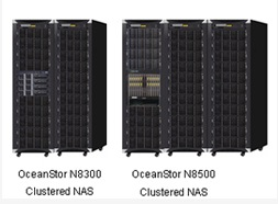 Huawei OceanStore N8300 and N8500 NAS