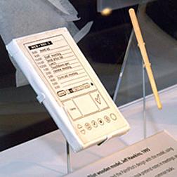 Original PalmPilot mock up @ The Computer History Museum, photo: Gavin Clarke