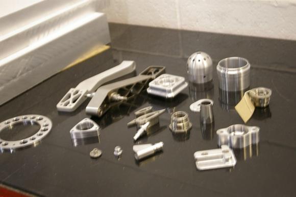 aluminium parts for racing car