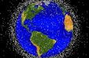 NASA graphic of space debris in low Earth orbit. Pic: NASA