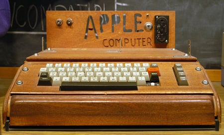 Apple I at the Smithsonian, photo Ed Uthman