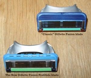 Razor blade comparison