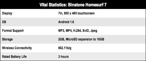 Binatone Homesurf 7