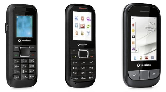 Vodafone 252, 351 and 455