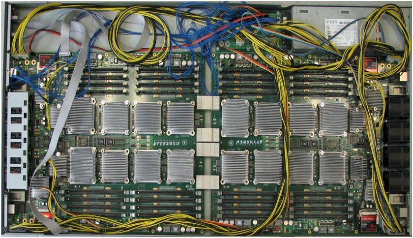 Godson-3B system board