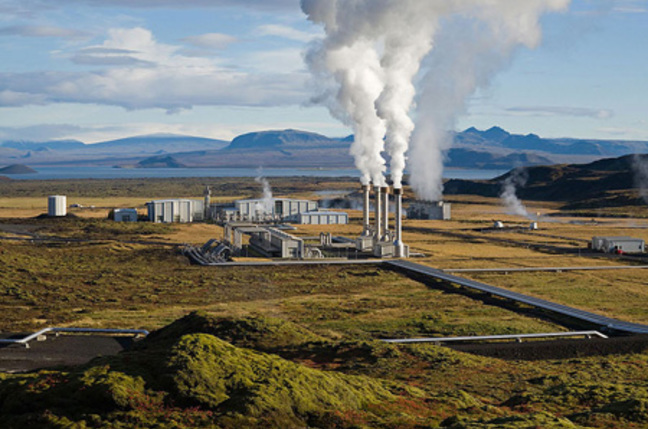 Nesjavellir Geothermal Plant by Gretar Ivarsson