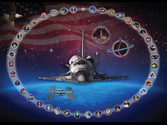 NASA's Discovery montage. Image: NASA/Amy Lombardo