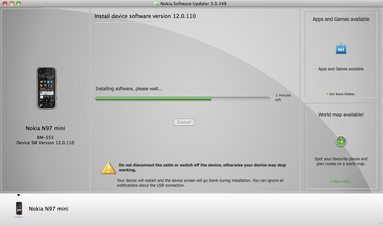 Nokia Software Updater for Mac Beta • The Register
