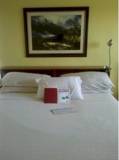 iPad2 and bed