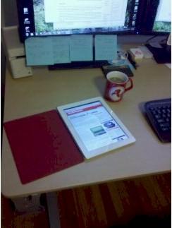 TPM iPad 2 desktop