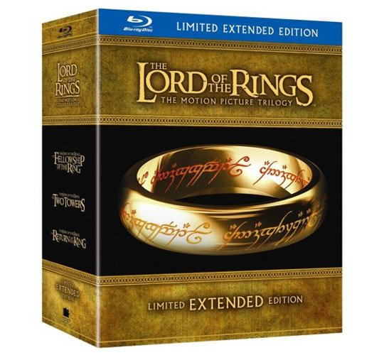 Lord of the Rings: Extended Edition Blu-ray