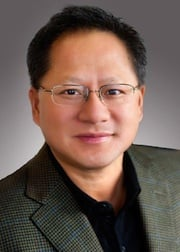Jen Hsun Huang, head and shoulders