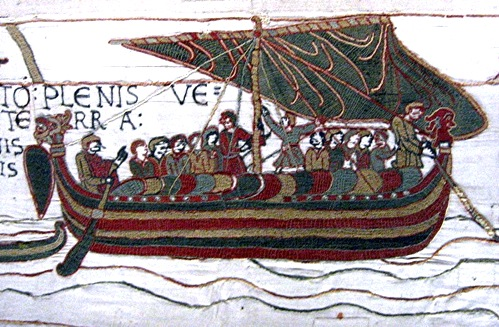 Bayeux Tapestry Boat