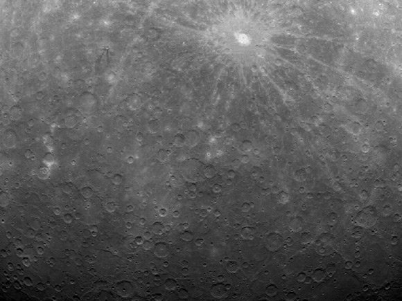Messenger image of Mercury. Pic: NASA