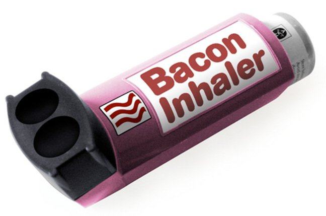 Bacon inhaler