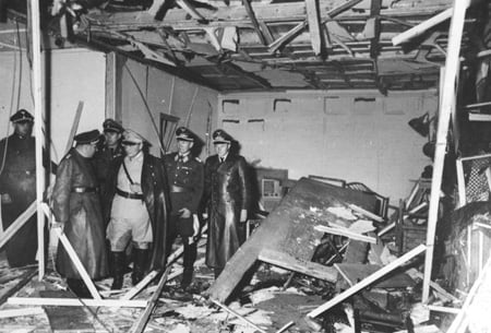 Hitler's Wolf's Lair after assination attempt