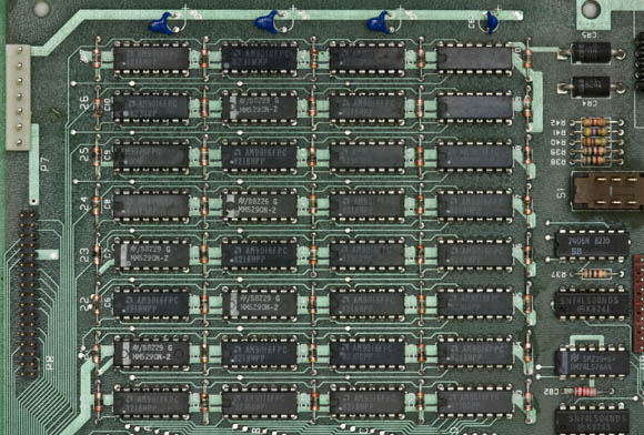 Osborne 1, second version - DRAM array