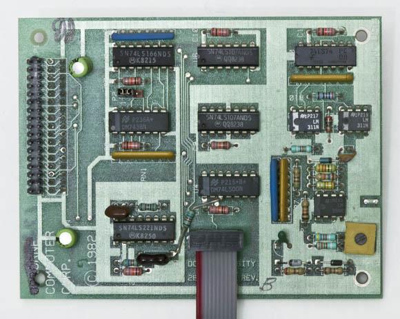 Osborne 1, second version - 5.25-inch floppy drive double-density controller card