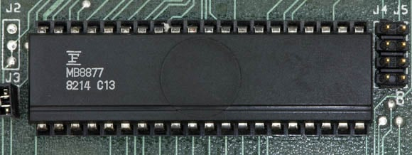 Osborne 1, second version - floppy-disc controller chip
