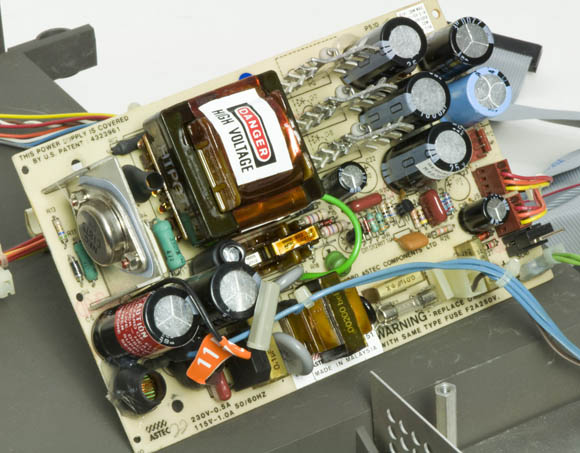 Osborne 1, second version - power supply
