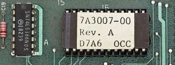 Osborne 1, second version - ROM chip