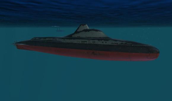 Screenshot from DARPA's ACTUV game. Credit: DARPA/Sonalysts
