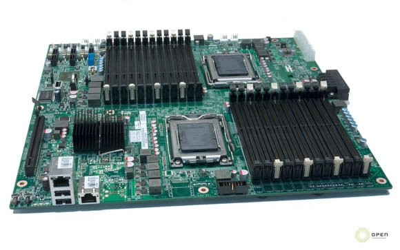 Facebook data center - AMD motherboard
