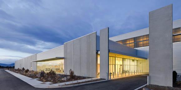 Facebook data center - exterior
