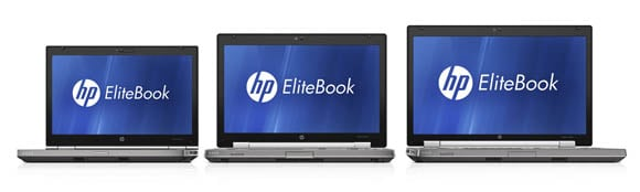 HP EliteBook 8460w, 8560w, and 8760w