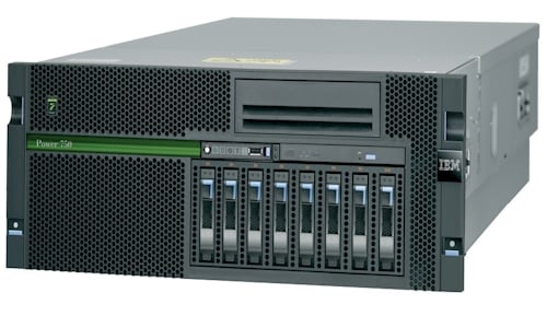 IBM Power 750 server