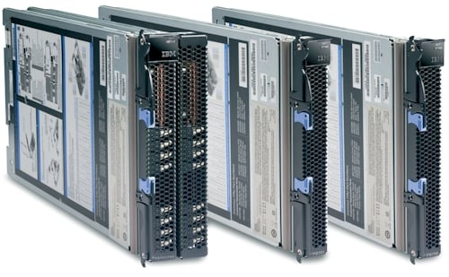 IBM's PS704 and PS703 blade servers