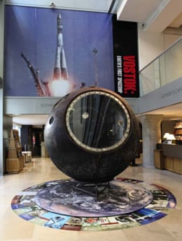 The Vostok 3KA-2 capsule. Pic: Sotheby's